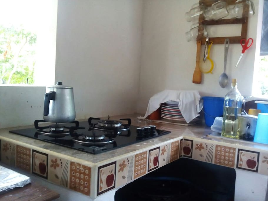 Podras cocinar la comida a tu gusto
