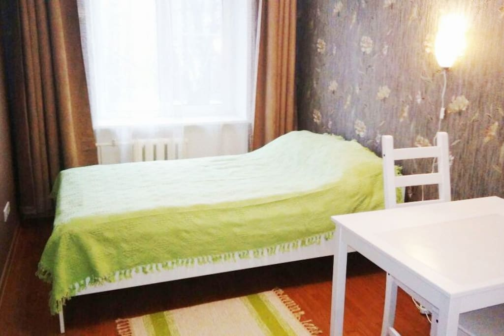 Welcome to our cozy room near metro Belorusskaya! Добро пожаловать!