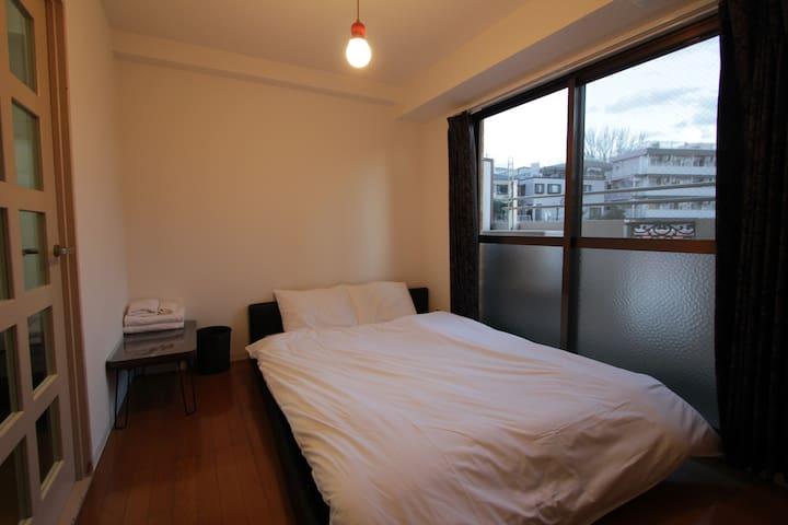 【Daikanyama】Shibuya 2min, Cozy room【Free wifi】