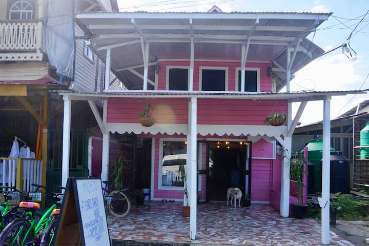3 1/2 apartment with view on  Bocas Main Street