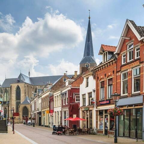 B&B de Zevenster midden in het centrum van Kampen