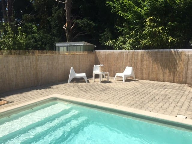 Crest : nice cottage with pool and garden
