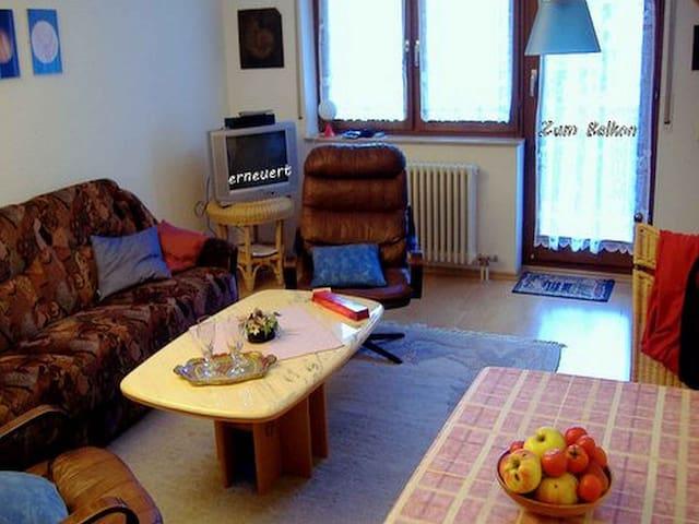 Wohnung am Bernhardusplatz, (Baden-Baden), Ferienwohnung, 45qm, 1 Schlafzimmer, max. 2 Personen