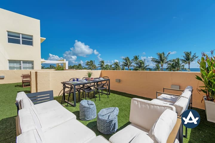 Sextant | Ocean Drive Penthouse | Private Rooftop | Steps to the Beach