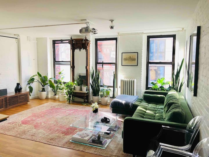RARE NYC LOFT in Perfect Location