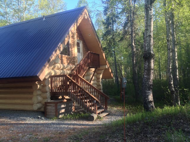 """The Loft"" Cabin, Near Downtown - Talkeetna - Kabin"