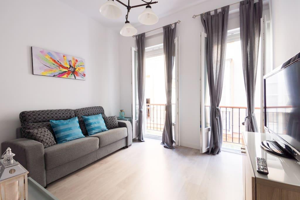 Apartamento en centro historico de cadiz loft in affitto a cadice andalusia spagna - Lino 5 metre de large ...