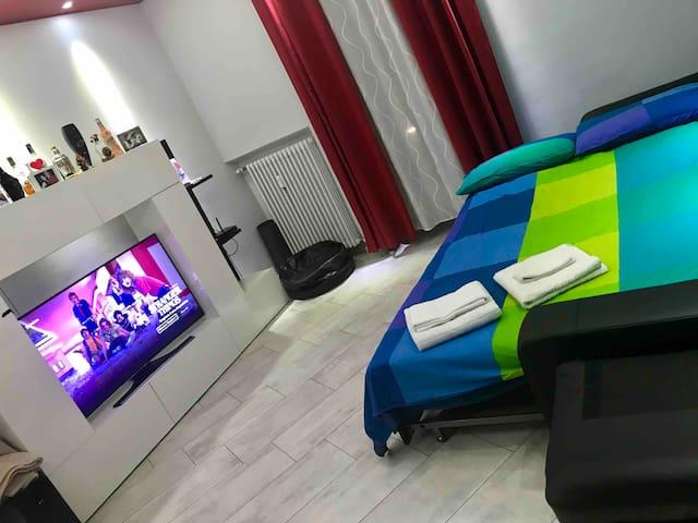 Stanza da letto   Moderno e confortable a torino