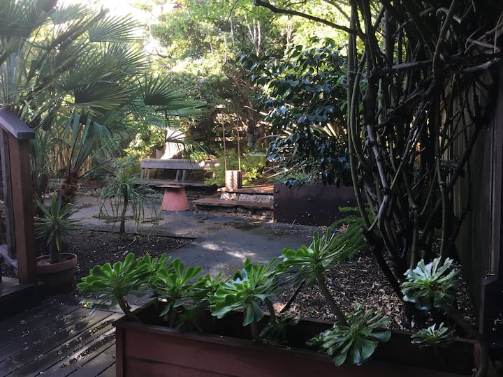 Garden Apt in Bernal Heights for Month-Long Stays