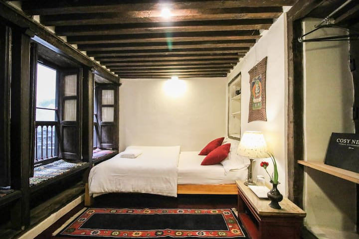 Single room in Dhakhwa House-a family Newari House