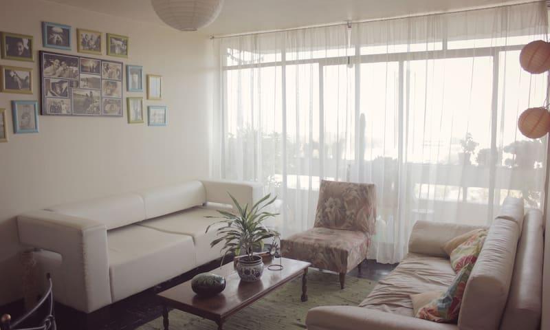 Habitación para 1 o 2 en centro de Santiago