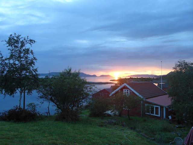 Årebrot, 6 km nord for Florø