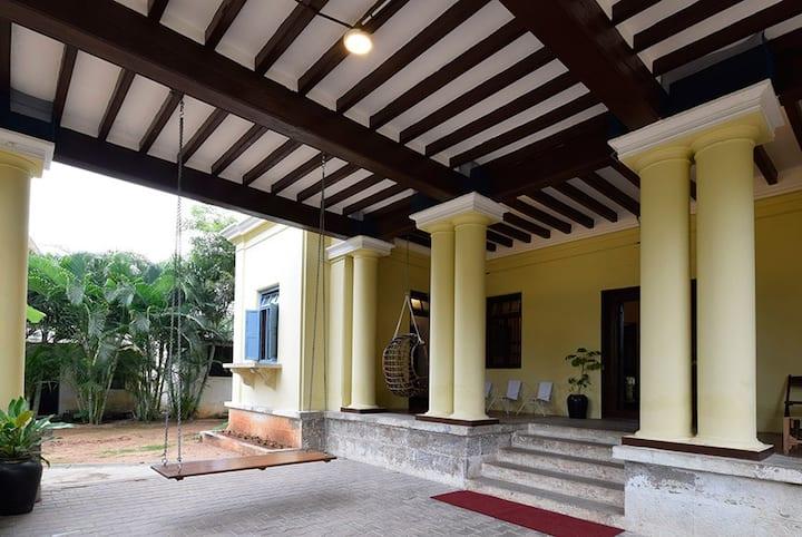Heritage building built in 108 6 Bed Dorm; Ensuite