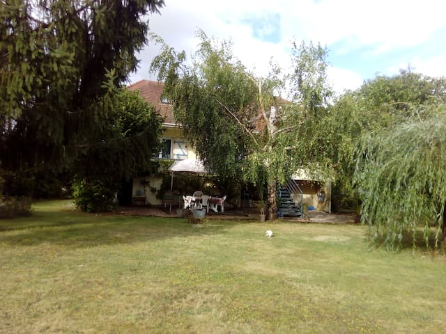 Lac Forêt d'Orient, chambre dans maison paisible - Lusigny-sur-Barse - บ้าน