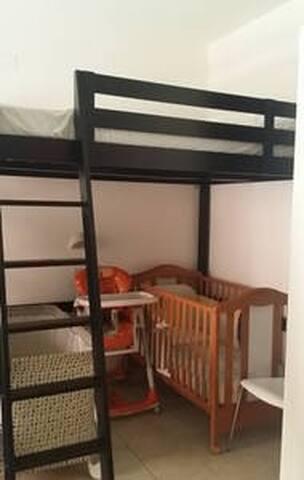 L'angolo camera in versione con bimbi piccoli