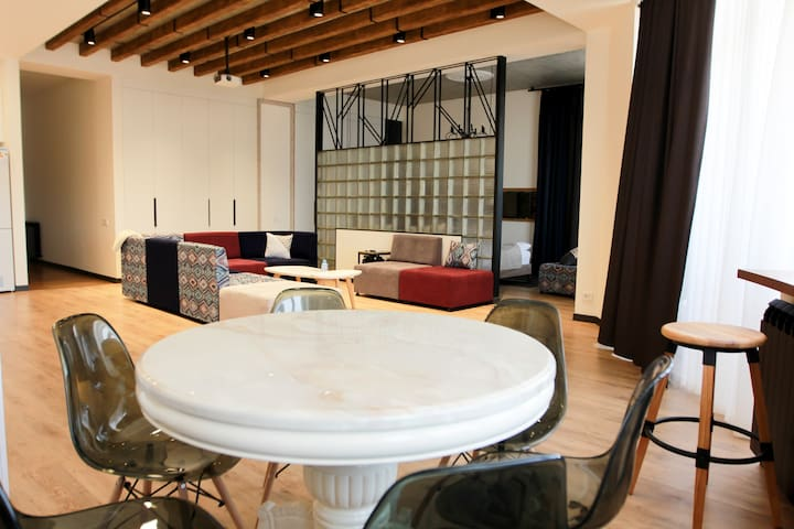 Fancy Loft with Terrace at RIS Dalma Collection