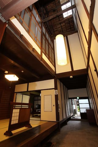 Private Japanese Traditional Townhouse, Nishidaya - Toyooka - House