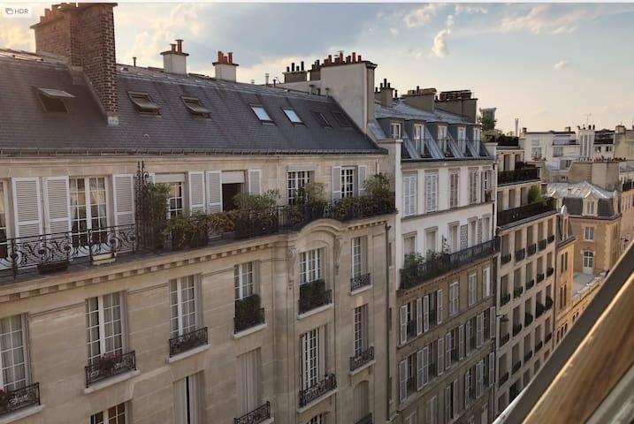 Paris 6 -Studio central et calme -Bail mobilité