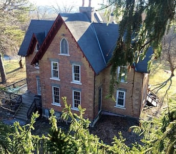 3rooms, 4 beds in Gothic Victorian - Coxsackie