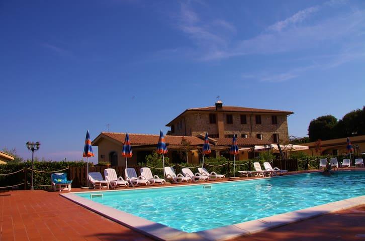 Appartamento in Residence La Pieve di Pomaia - Santa luce - Pis