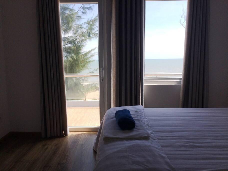 Big bed room view