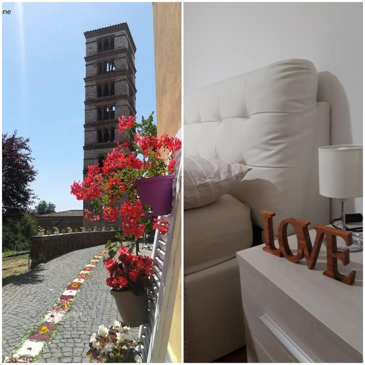Delightful apartment to discover TUSCIA.