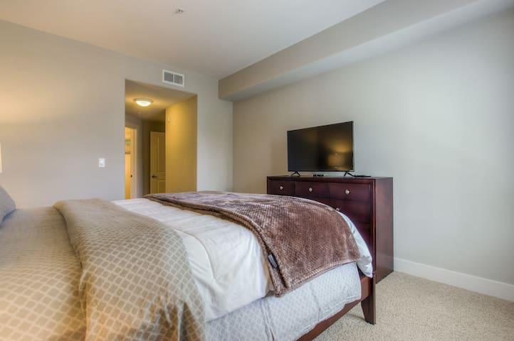 TV in the master bedroom