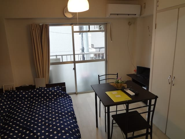 NEW SALE!! 15min to Tenjin station【Free Wi-Fi】
