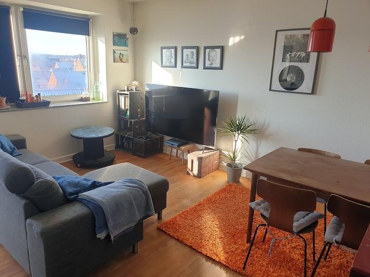 3 værelses lejlighed,med udsigt centralt i Horsens