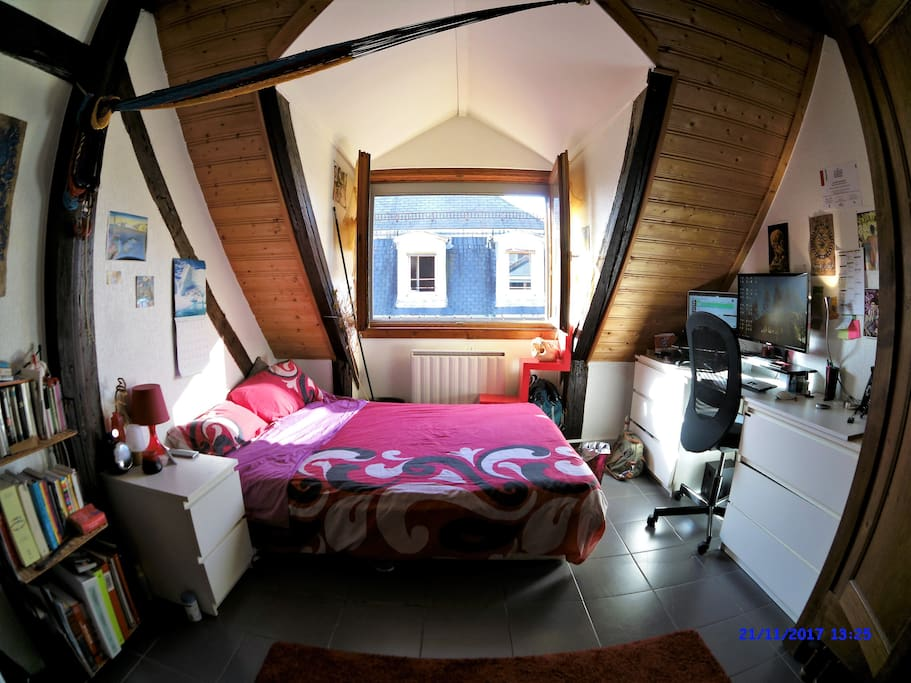 Chambre maison alsacienne centre ville appartements for Chambre hote mulhouse