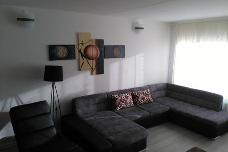 Big new renovated livingroom in a 3 room apartment