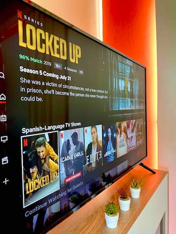 Netflix available for Guests
