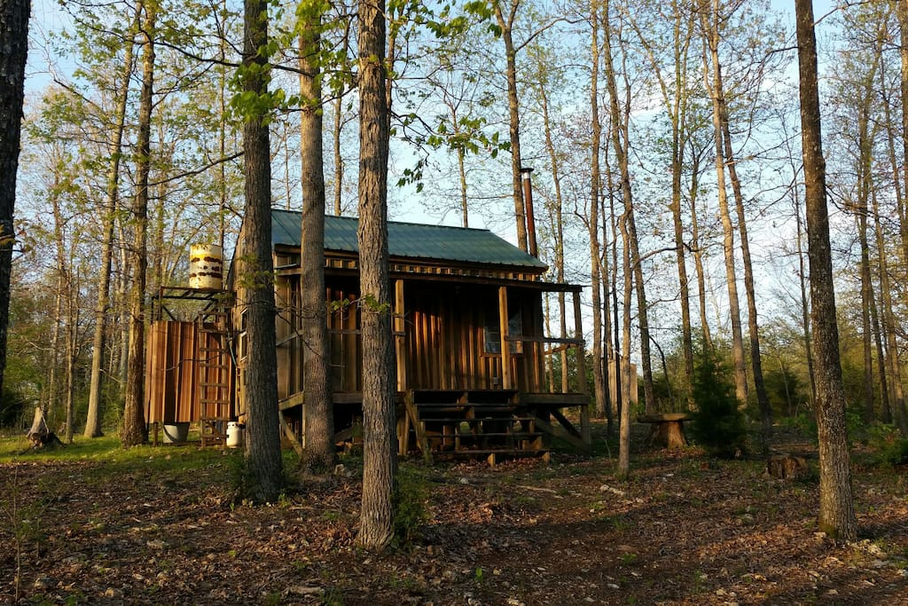 Simple Affordable Rustic Cabin Camping Experience Cabins