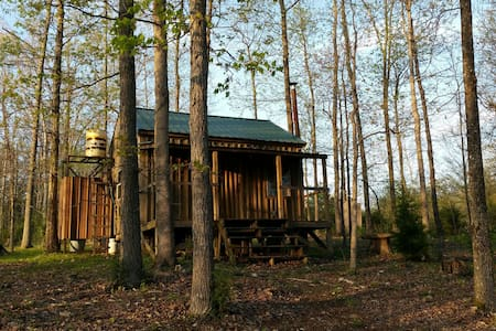 Simple Affordable Rustic Cabin/Camping Experience