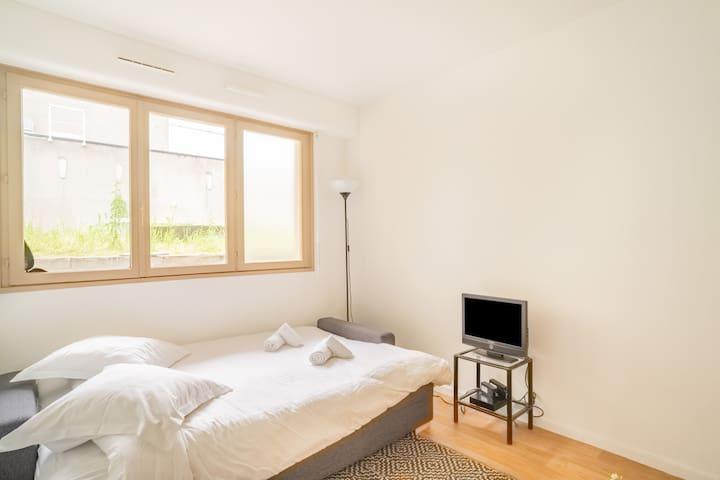 Sleeping corner, sofa bed