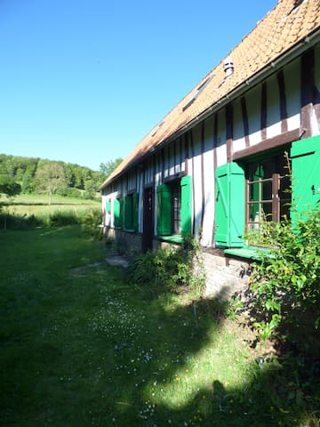Magnifique longère Normande - Fallencourt - Casa