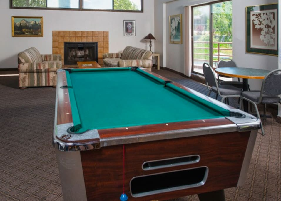 Games room for all ages