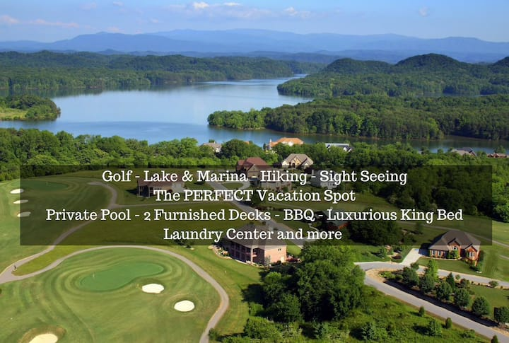 Tail of the Dragon Smoky Mtn Golf & Lake KingSuite