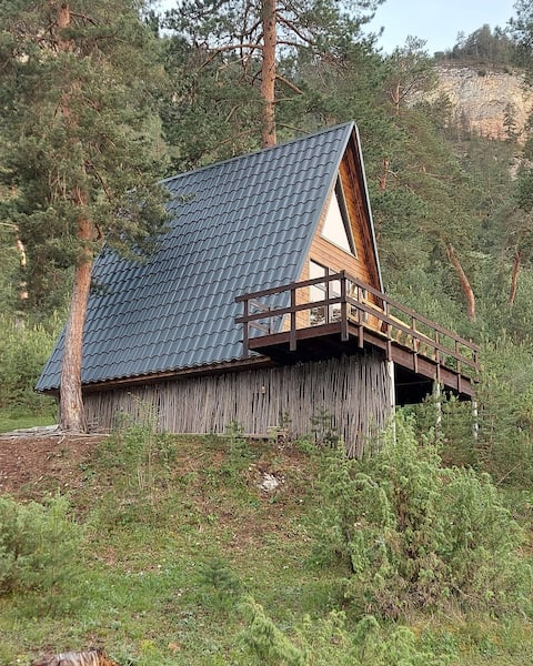 The unique  place to be in isolation with nature !