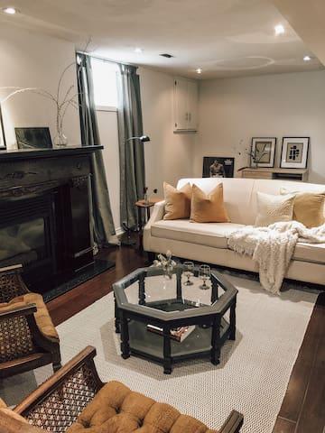 Cozy basement suite near Bayfront