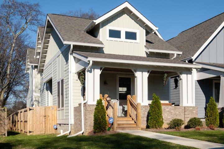 East Nashville Stunning Designer Home - Nashville - Hus
