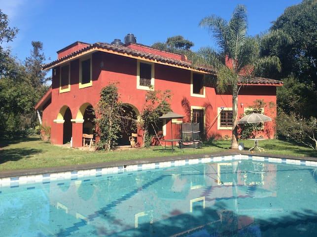 HACIENDA MEXICANA  (habitacion privada)