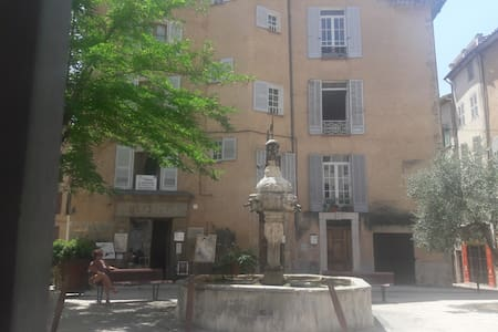 Apartment in the heart of Cotignac