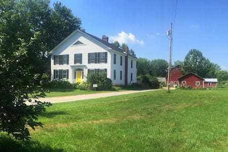 Farm Stay near Middlebury (room 4) - New Haven