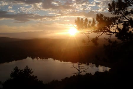 primitive camping with incredible views - Barton