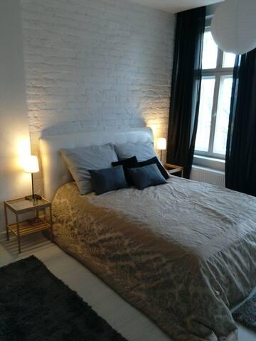 Klimatyczne mieszkanie w Kamienicy - オルシュティン - アパート