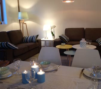 Near Paris, Giverny : country house 4 to 8 persons - Saint-Étienne-sous-Bailleul - Haus