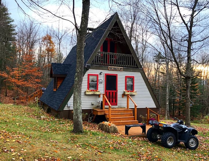 Adirondack Mountainside A-Frame