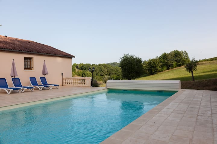 COTTAGE PRIVATE POOL / QUERCY