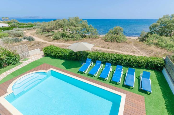 YourHouse Can Tugores - holiday house for 8 people, sea views and pool